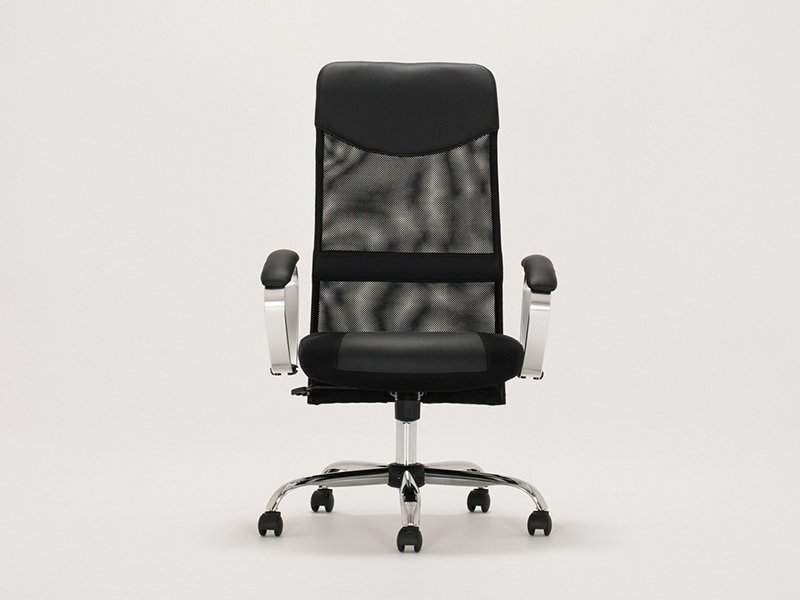 lotus_office_chair_black_front_back