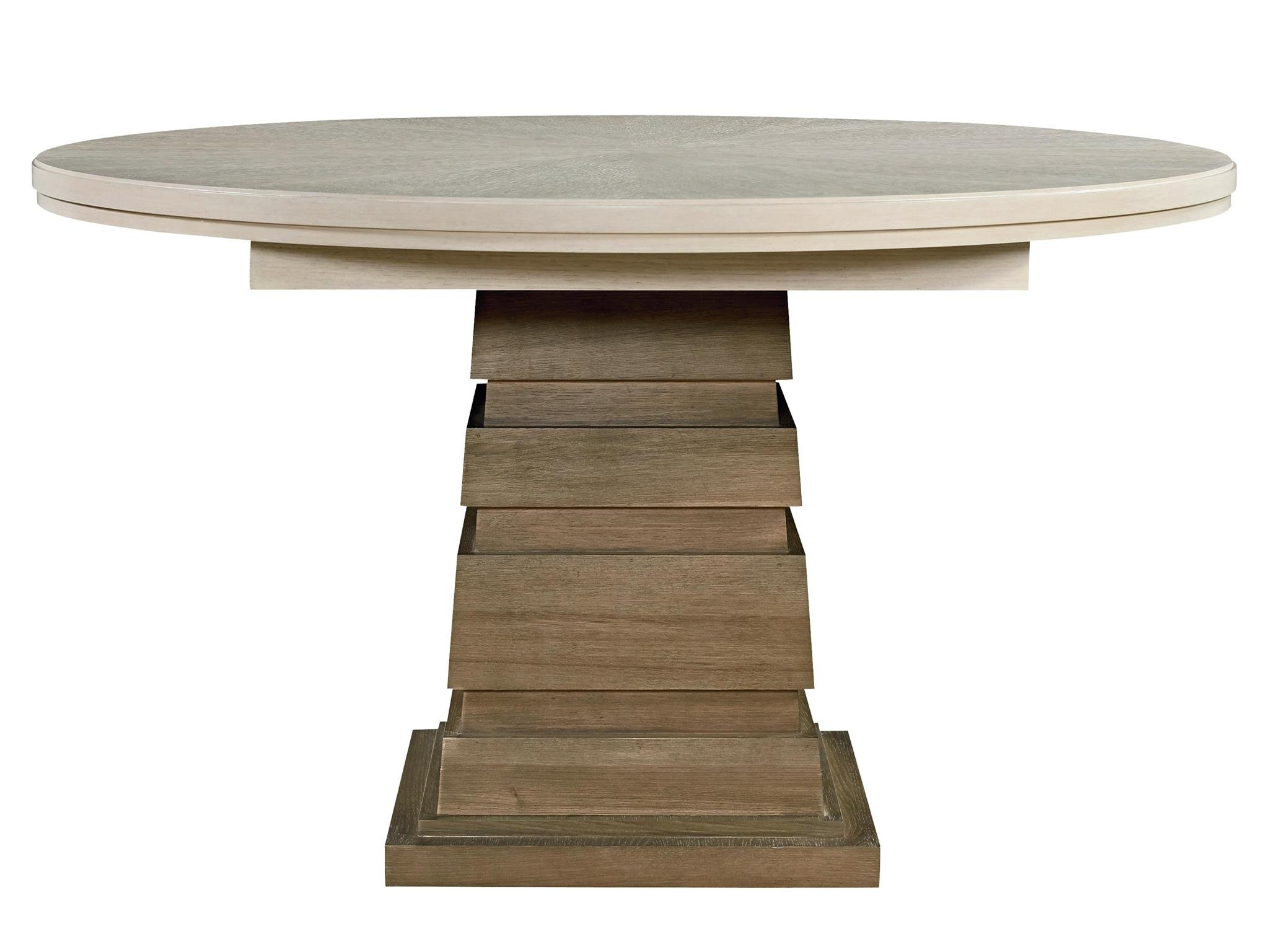 Synchronicity Round Dining Table Horizon Home Quarters Furnishings