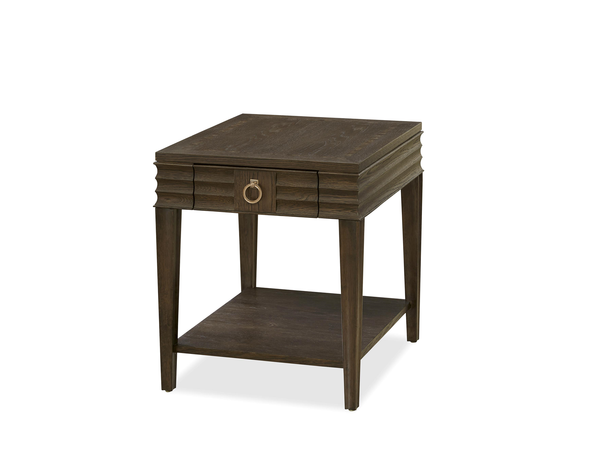 California Drawer End Table Hollywood Hills Home