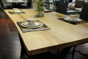 Customizable Live edge wooden table